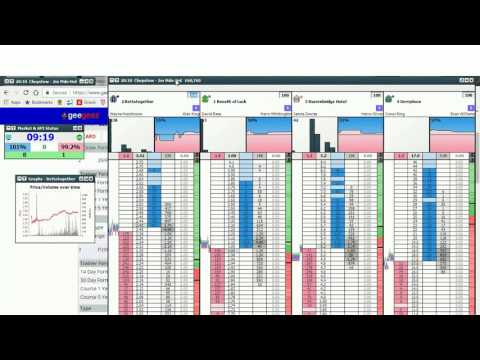 Simple Horse Trading based only on horse/jockey/trainer stat