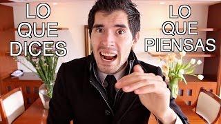Lo Que Dices vs Lo Que Piensas | Hola Soy German