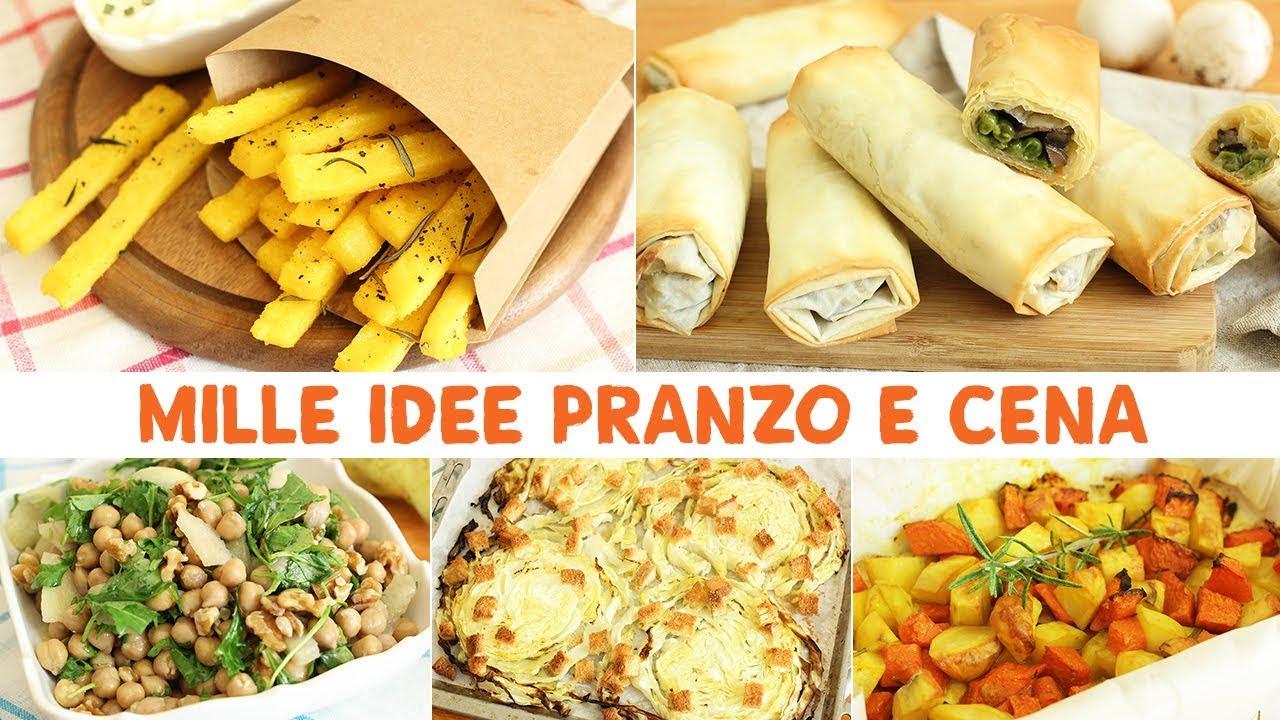 MILLE IDEE PRANZO E CENA Ricette Facili e Leggere | RICETTE E IDEE ...