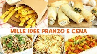 MILLE IDEE PRANZO E CENA Ricette Facili e Leggere | RICETTE E IDEE per tutti i gusti