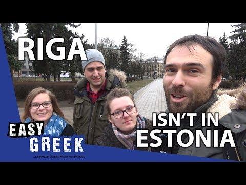 Riga Isn't In Estonia | Easy Greek 24