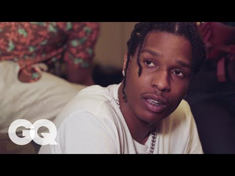 A$AP Rocky Answers Questions from André 3000, Raf Simons, Mahershala Ali, and More | GQ Style