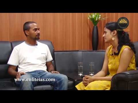 Exclusive Chat With UPSC 2017 Topper|SATHISH BALAKRISHNAN  AIR 125| ENLITE IAS