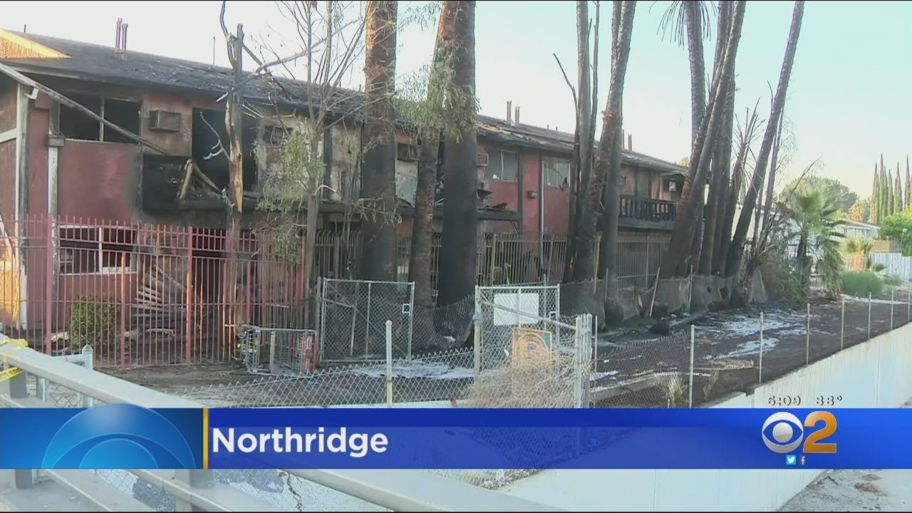Community Groups Support 16 Northridge Families After Fire Destroys Apartment Buildings