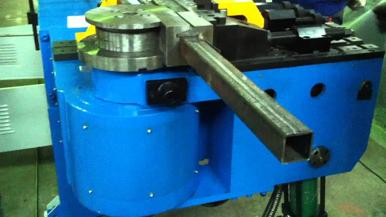Steelmaster Mandrel Tube & Pipe Bender with Square Tooling