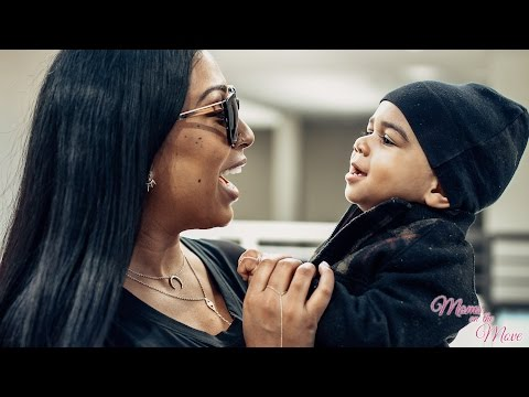 A Day in the Life of Melanie Fiona | Moms on the Move