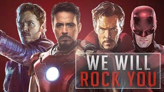 Marvel Cinematic Universe We Will Rock You Tribute