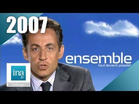 Nicolas Sarkozy - Campagne présidentielle 2007 (2ème tour) | Archive INA