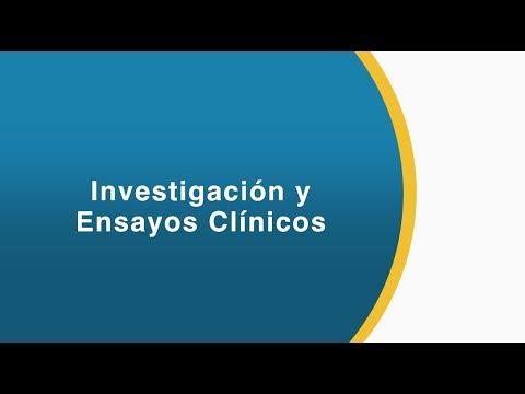 INVESTIGACIÓN Y ENSAYOS CLÍNICOS