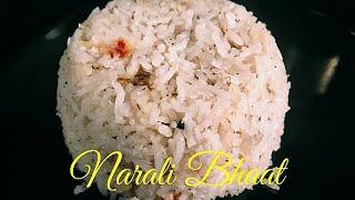 Narali Bhat Recipe