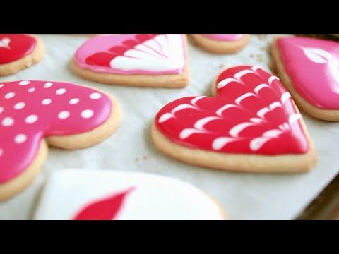 Valentine biscuits | Video recipe