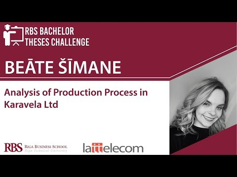RBS Bachelor Theses Challenge 2018 - Beāte Šīmane
