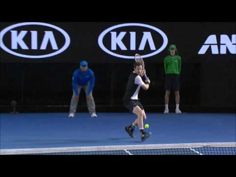 Milos Raonic v Andy Murray highlights (SF) | Australian Open 2016