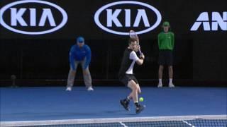 Milos Raonic v Andy Murray highlights (SF)   Australian Open 2016