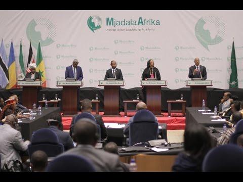 African leadership debate - Mjadala Africa 2016