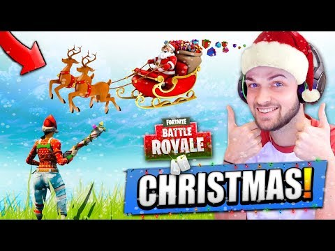 CHRISTMAS DAY in Fortnite: Battle Royale!