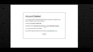 ROBLOX | Account Deleted?!?