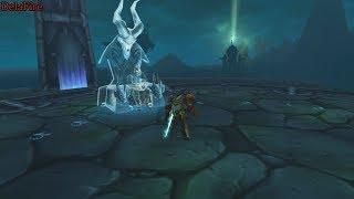 World of Warcraft: Legion -  Затерянный ледник (Рыцарь Смерти)