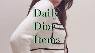 Vlog4. 20대 | 디올 Dior 데일리 악세사리 …