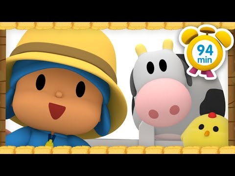 🐮 POCOYO In ENGLISH - Pocoyo, The Farmer [94 Minutes] | Full Episodes | VIDEOS And CARTOONS For KIDS