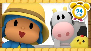 🐮 POCOYO in ENGLISH - Pocoyo, the farmer [94 minutes]   Full Episodes   VIDEOS and CARTOONS for KIDS