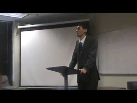 my speech about human rights violation in the university of Washington DC