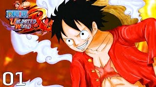 LUFFY, THIS IS COOL! | One Piece: Unlimited World Red - Walkthrough Part 1, Gameplay PS3