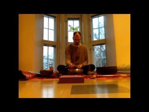 Bastiaan Baaij - Sound Meditation Concert promo @ Yogaschool Shanti, Helsinki