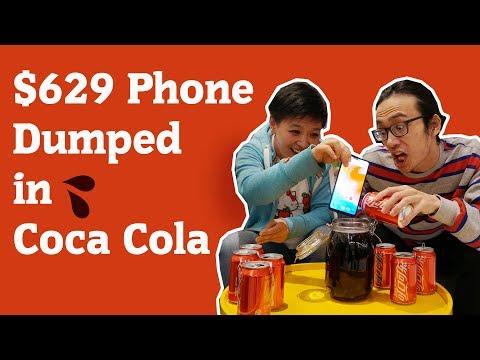 $629 OnePlus 6 Dumped in Coca Cola