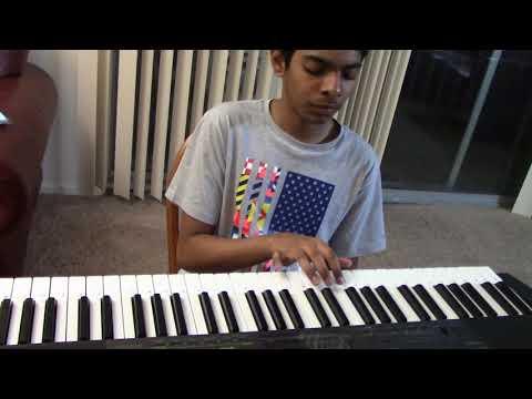 Tholi Prema - Sunona Sunaina song on keyboard