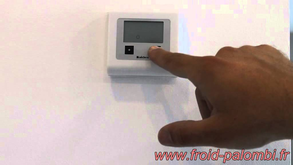 utilisation thermostat ribo t one par froid palombi youtube. Black Bedroom Furniture Sets. Home Design Ideas