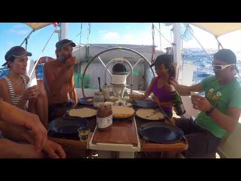 ⛵Tans-atlantic ep:1 Capo verde to Barbados island🌎