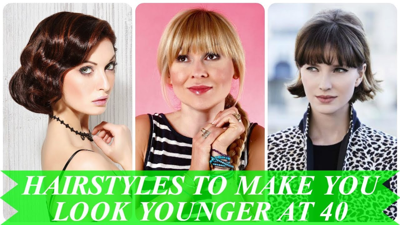 20 hottest ideas for hairstyles to make you look younger at 40