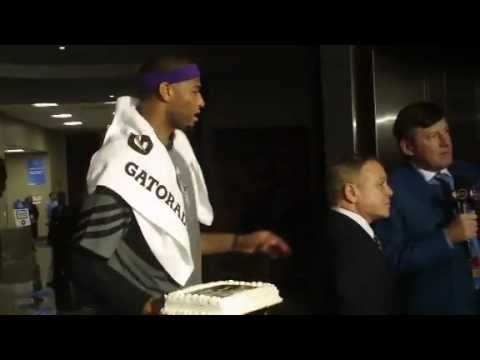 Team Shaq surprise the Czar, Mike Fratello, on his birthday