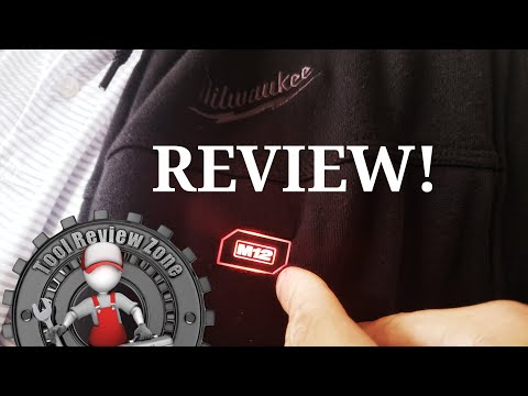 Milwaukee M12 Heated Hoodie Review (How Warm Is It)? #milwaukeetools #heatedhoodie #M12 #toolreviews