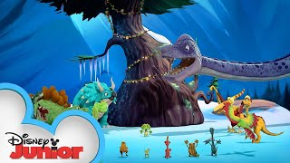 Tiny's Holiday Party | Gigantosaurus | Disney Junior