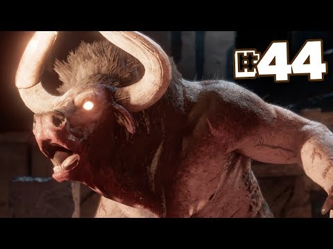 IT'S THE REAL MINOTAUR!!! - Assassin's Creed Odyssey | Part 44 || FULL PLAYTHROUGH (PS4) HD thumbnail
