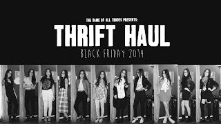 Fall Thrift Haul & 11 Outfits - Black Friday Edition 2014 Thumbnail