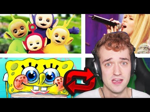 TELETUBBIES & OTHER CHILDREN SONGS REVERSED!! (I Can't Believe What They Say!!)