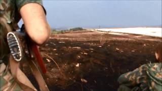 Бойцы подразделения Мотороллы кошмарят укров пытаясь выманить их на открытый бой