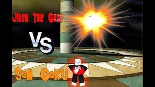 Roblox - Dragon Ball Final Stand / Jiren vs Goku (Reconstitution DBS)