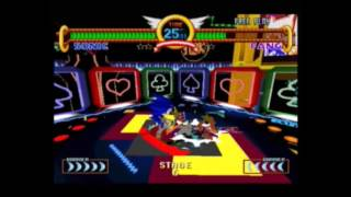 "Sonic The Fighters 3'29""19 Speedrun as Sonic [Current World Record]"
