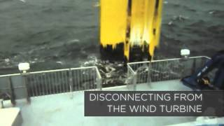 The Danish Yachts' SWATH at Sea - December 2013