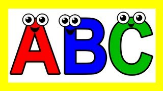 """Sing the Alphabet"" - Busy Beavers, ABC Song, Kids Learning Nursery Song, Teach Phonics"