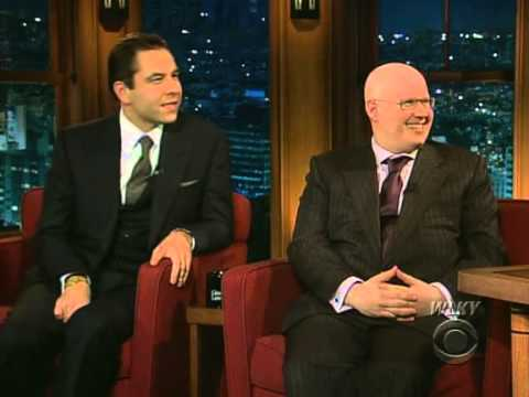Late Late Show with Craig Ferguson 10/10/2008 Matt Lucas & David Walliams, Tom Morello