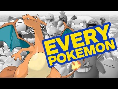 Every Pokemon in Pokemon Go