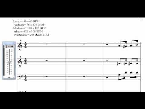Video sobre Andamento - CCB Teoria Musical