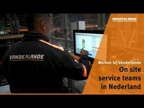 On site service teams in Nederland   Werken bij Vanderlande
