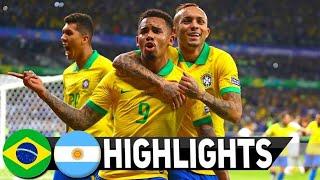 Brazil vs Argentina 2-0 Highlights Copa America Semifinal 2019