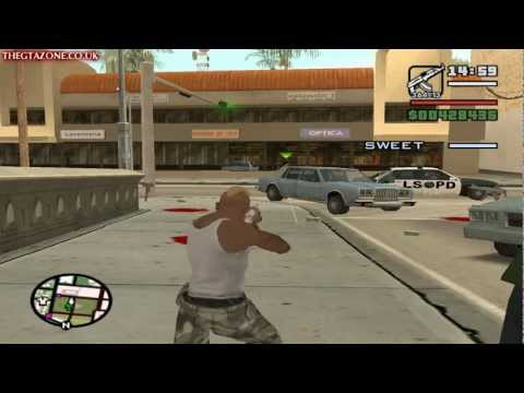 GTA San Andreas - Mission #95 - Beat Down On B Dup (HD)